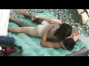 Sexo amateur en la playa