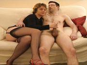 Esposa cachonda ama el sexo anal